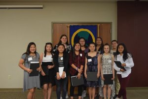 Young Women Honored