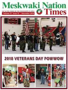 December Meskwaki Nation Times Available Now