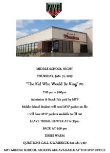 Middle School Night