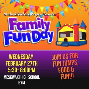 Family Fun Day @ Meskwaki High School Gym