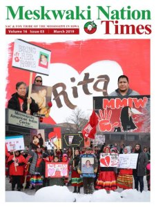 March Meskwaki Nation Times Now Available