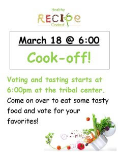 Tonight: Healthy Recipe Cook-Off!