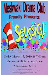 Meskwaki Drama Club: Seussical @ Meskwaki Settlement School