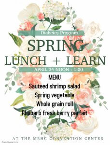 Spring Lunch & Learn @ MBCH Convention Center