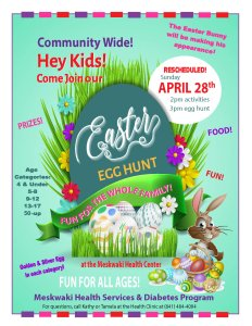 Meskwaki Community Easter Egg Hunt