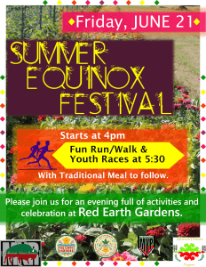 Summer Equinox Festival @ Red Earth Gardens