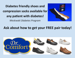 FREE Shoes & Compression Socks for Diabetes Patients