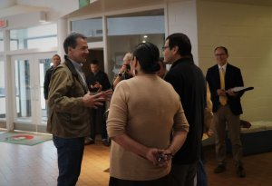 Presidential Candidate Visits the Meskwaki Nation
