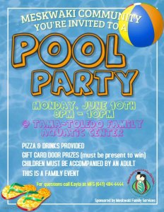 Family Services Pool Party