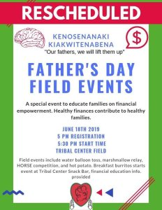 Father's Day Field Events