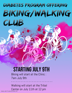 Biking Club @ Meskwaki Health Clinic