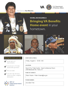 VA Benefits Open Sign Up and Claims Event