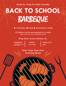 FFN: Back to School BBQ