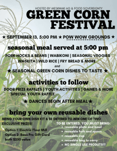 Green Corn Festival @ Meskwaki Powwow Grounds