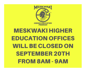 MHE Office Closed 8am-9am