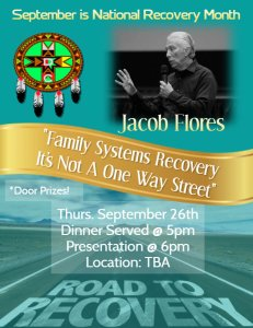 "Jacob Flores ""Family Systems Recover"""