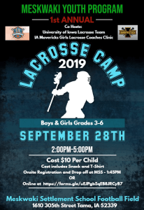 MYP Lacrosse Camp @ MSS Football Field