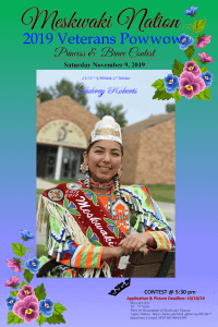 Veterans Powwow Princess and Brave Contest Deadline