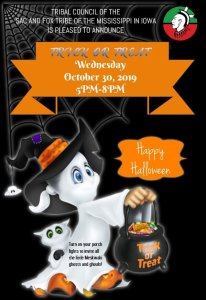 Meskwaki Trick or Treat Night
