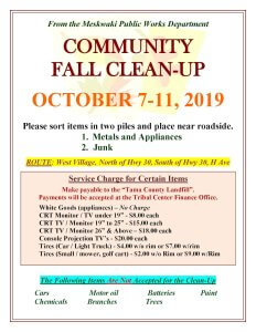 Fall Community Clean-Up