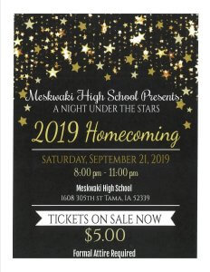 Meskwaki High School Homecoming