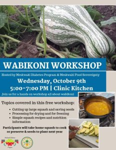 Wabikoni Workshop