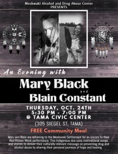 An Evening with Mary Black @ Tama Civic Center | Tama | Iowa | United States