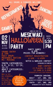 Meskwaki Halloween Party @ MSS High School Gym