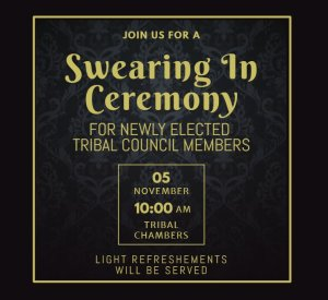 Tribal Council Swearing In Ceremony