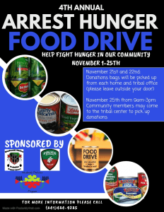 4th Annual Arrest Hunger Food Drive Pick-Up