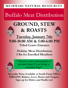 TODAY - Buffalo Meat Distribution