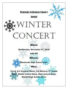 MSS Winter Concert