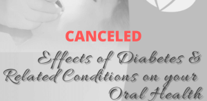 Canceled: Diabetes and Oral Health Meeting
