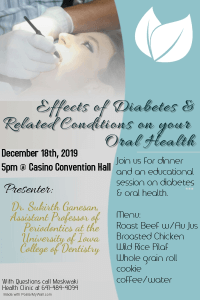 CANCELED: Diabetes & Oral Health Meeting